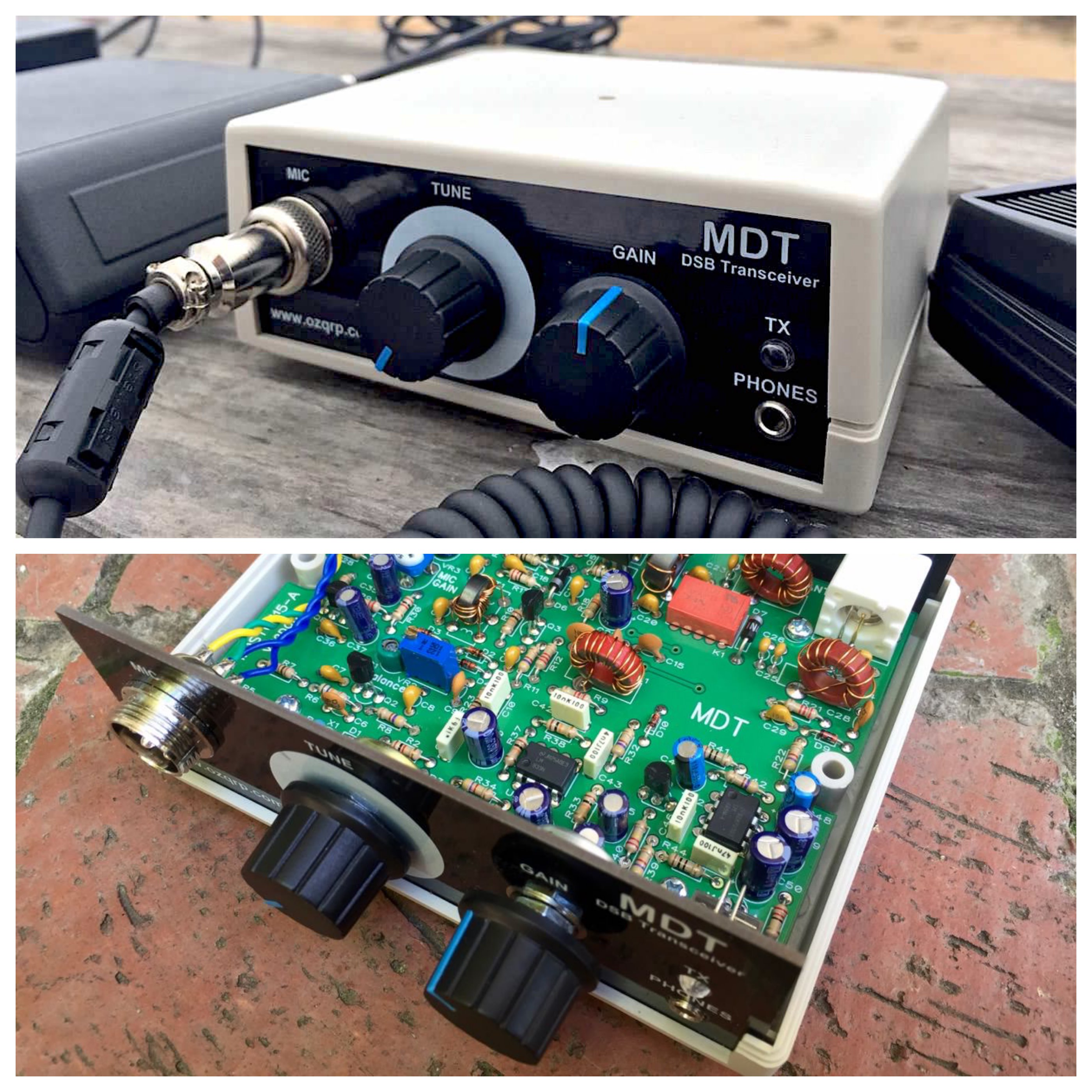 MDT 40m Ham Radio QRP Transceiver Kit – The Tech Examiner