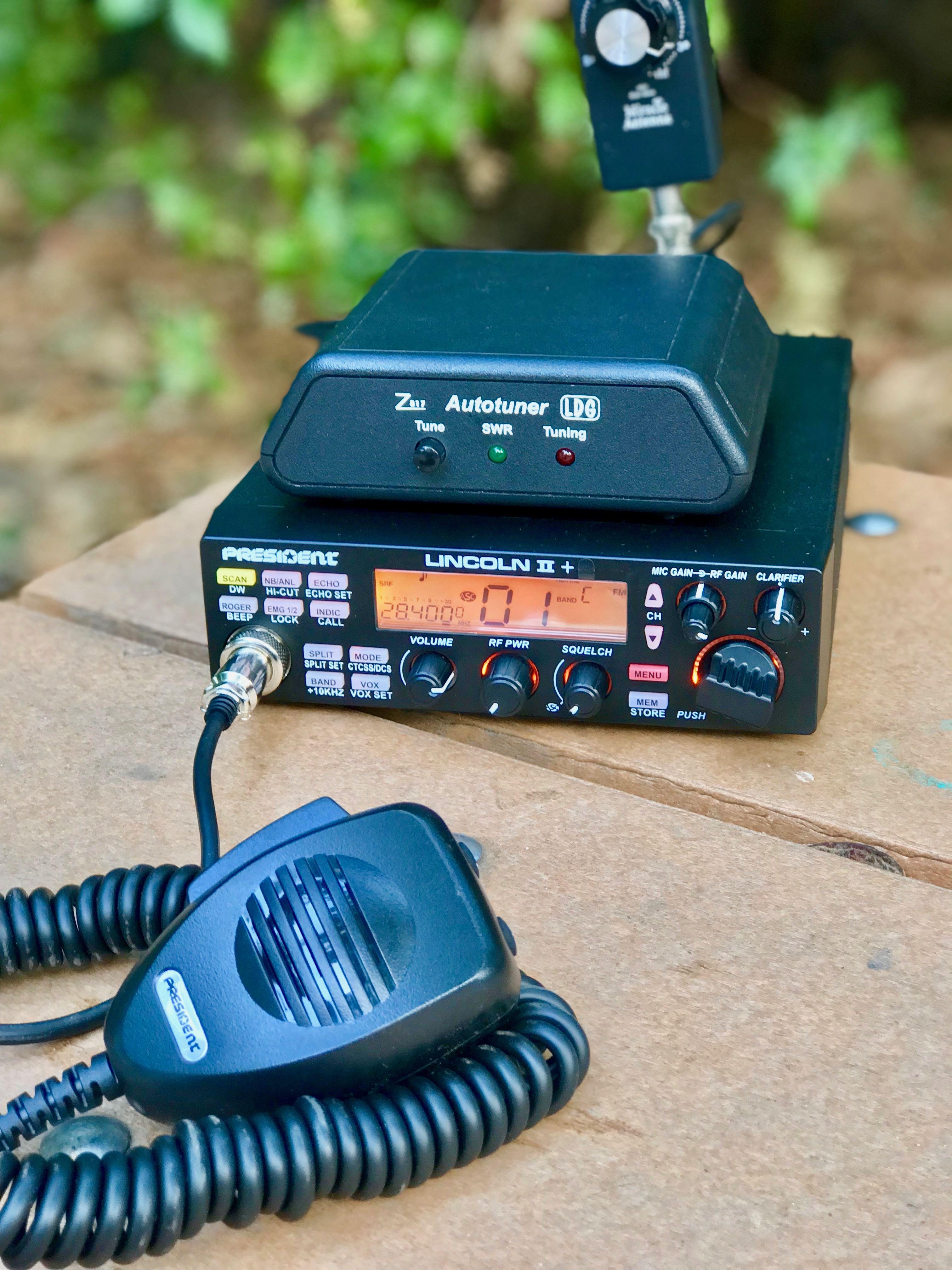 President Lincoln II 10 Meter Amateur Radio Shortwave Radios ...