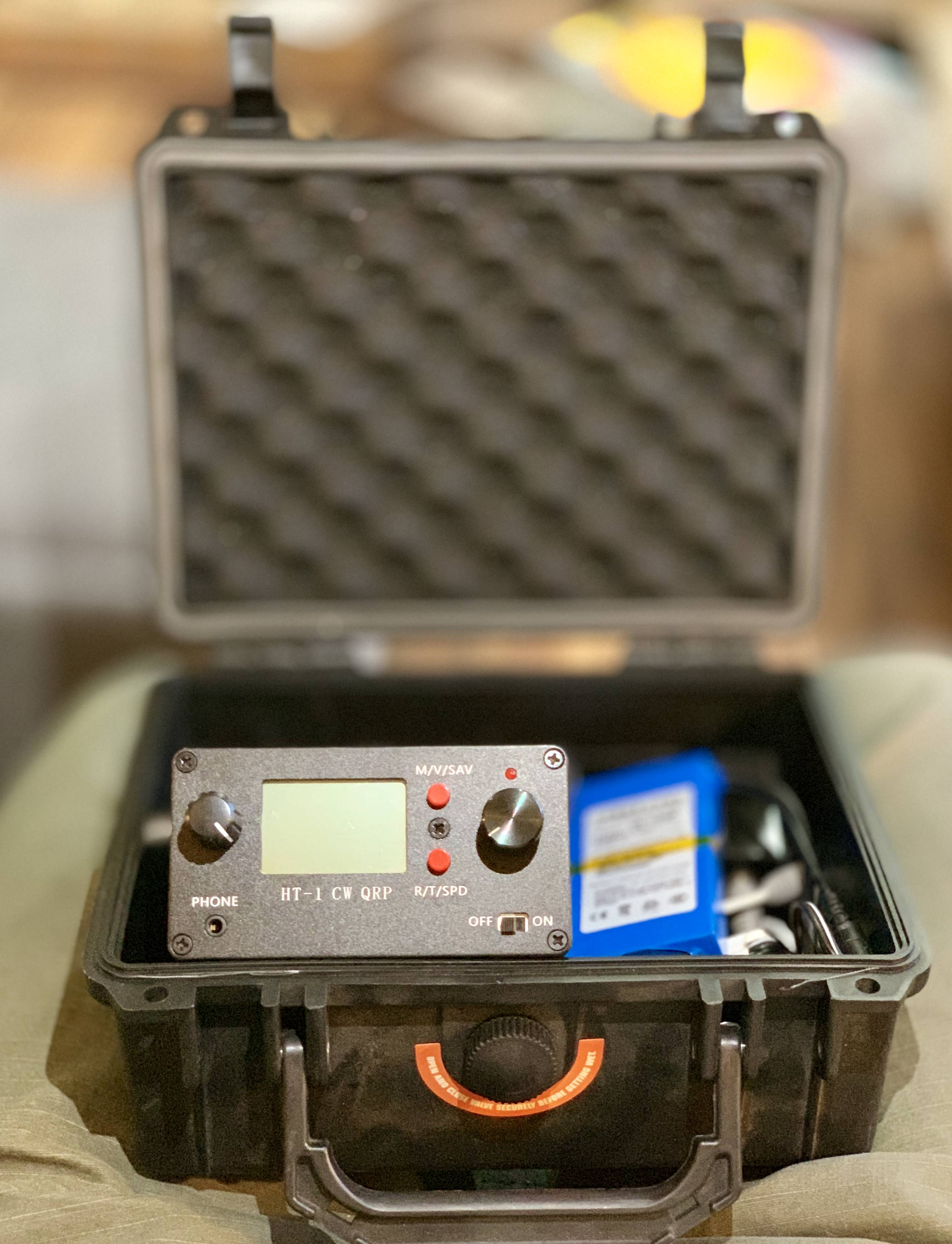 HT-1A Dual Band CW QRP Ham Radio Transceiver – The Tech Examiner